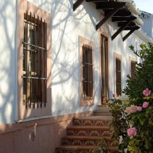Escaleras y rosas
